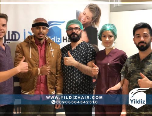 نتائج عمليات زراعة الشعر في تركيا – يلدزهير – 3
